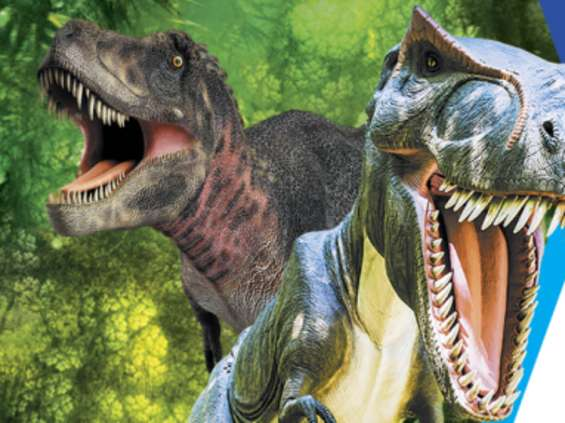 Dinozaury i iluzja w Galerii Malta