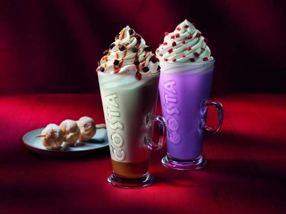 Słodka zima w Costa Coffee