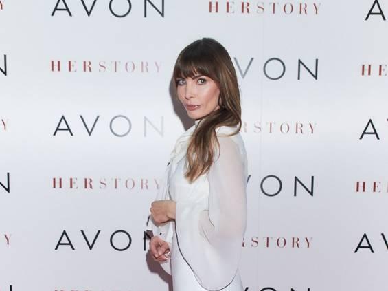 Agnieszka Dygant wspiera produkt Avonu