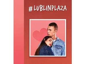 Lublin Plaza na walentynki