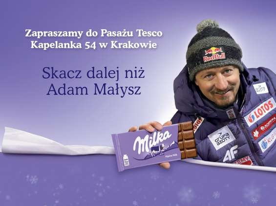 Spotkanie z Adamem Małyszem w Pasażu Tesco w Krakowie