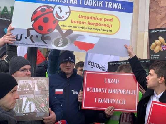 Agrounia blokuje pracę Biedronki i idzie do prokuratury