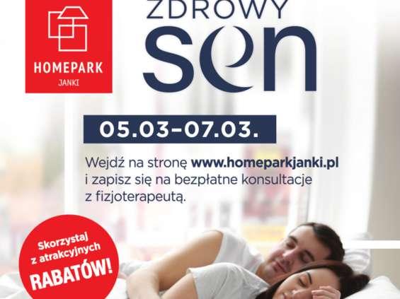 """Homepark Janki z akcją """"Zdrowy sen"""""""