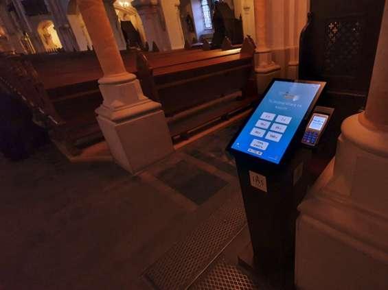 Jezuici mają elektroniczną tacę w Łodzi