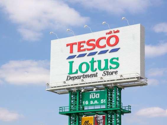 Tesco sprzedaje azjatycki biznes