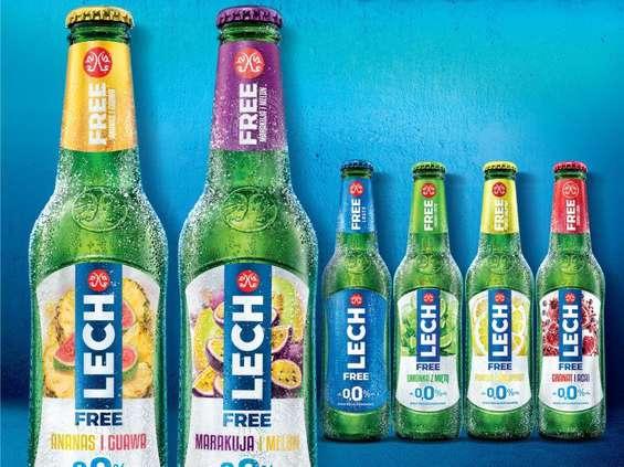 Dwa nowe smaki Lecha Free 0,0%