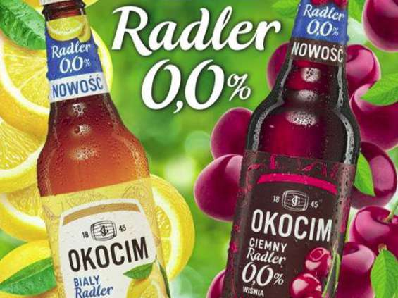 Nowe radlery 0,0% od marki Okocim