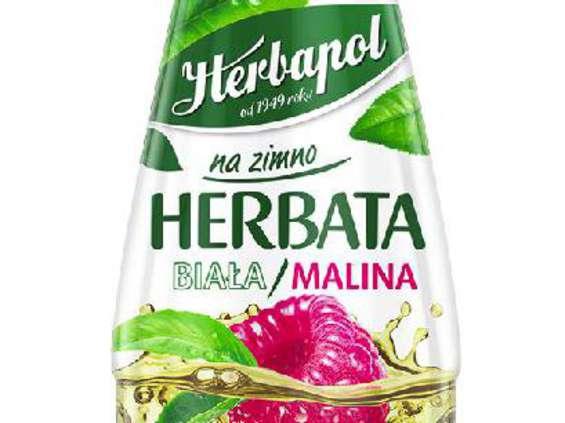 Herbapol-Lublin. Herbapol na zimno Herbata biała/malina