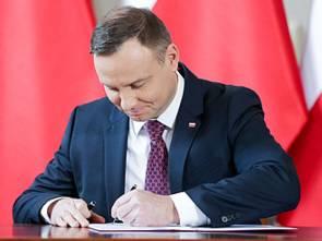 Prezydent podpisał ustawy tworzące tarczę antykryzysową