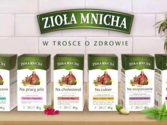 Herbapol-Lublin kontynuuje kampanię reklamową linii Zioła Mnicha