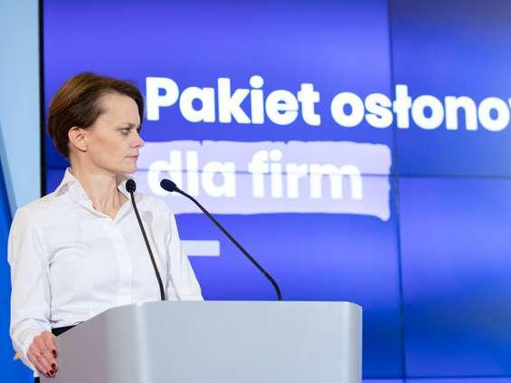 Emilewicz: ulga w składkach do ZUS dla firm od 10 do 49 pracowników