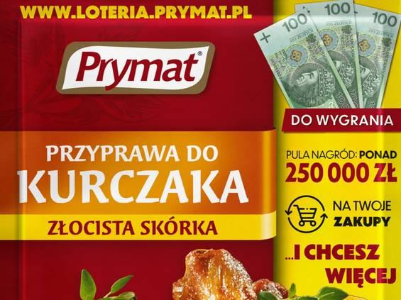 Wielka loteria marki Prymat