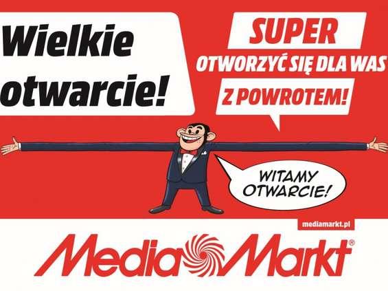 Media Markt świętuje ponowne otwarcie sklepów