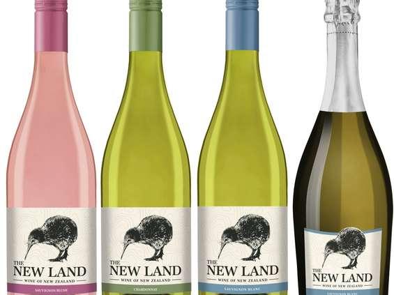 JNT Group wprowadza kolekcję win The New Land