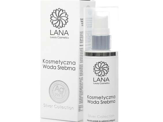 Lana Luxury Cosmetics.  Woda Srebrna Natura Medica