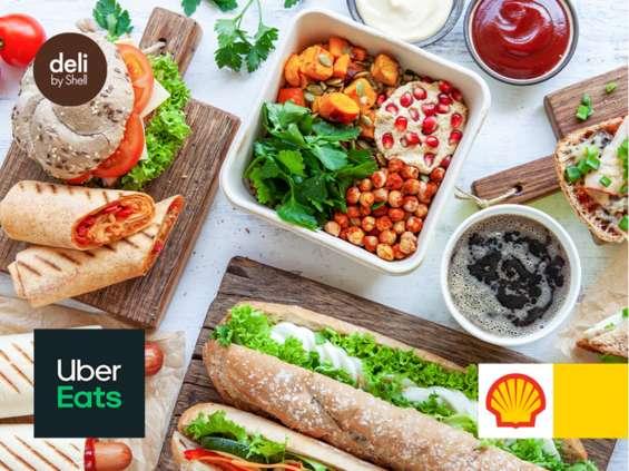 Shell dostarcza z Uber Eats