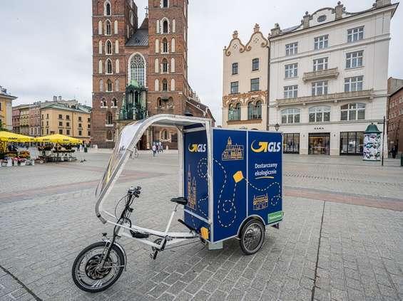 W Polsce zadebiutował rower kurierski
