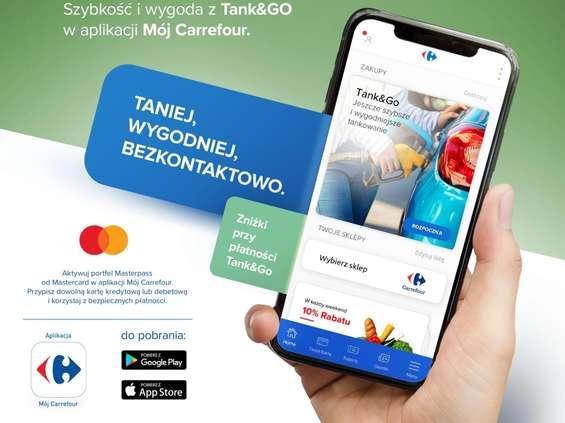 Carrefour testuje nową usługę Tank&Go