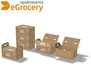 Innowacyjne opakowania dla zakupów spożywczych on-line