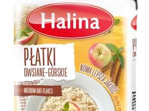 Sawex Foods. Płatki owsiane-górskie błyskawiczne Halina