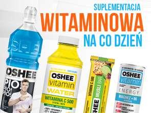 Oshee promuje napoje witaminowe