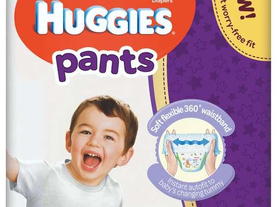 Brand Distribution. Pieluchomajtki Huggies Pants
