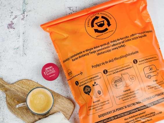 Nescafé Dolce Gusto wystartowało z projektem #RecyklingDolceGusto
