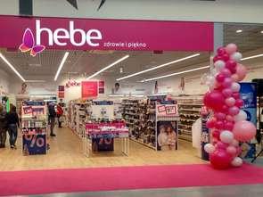E-sklep Hebe na rynku od roku
