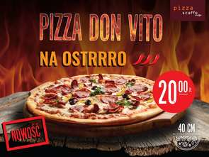 Pizza Don Vito na stacjach paliw Moya