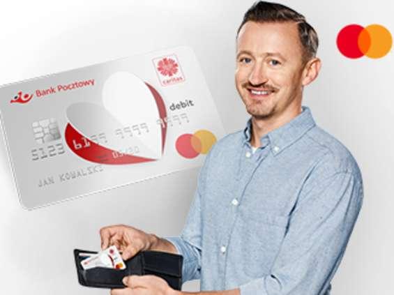Nowa promocja Mastercard, Banku Pocztowego i Caritas Polska