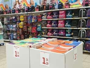 Auchan wymienia stary plecak szkolny na nowy
