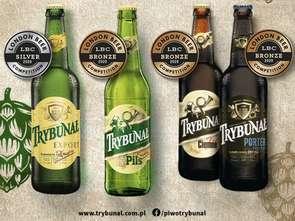Piwo Trybunał z czterema medalami