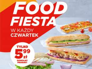 Food & Coffee Fiesta na stacjach Circle K