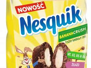 Cereal Partners Poland Toruń-Pacific. Nestlé Nesquik BANANACRUSH