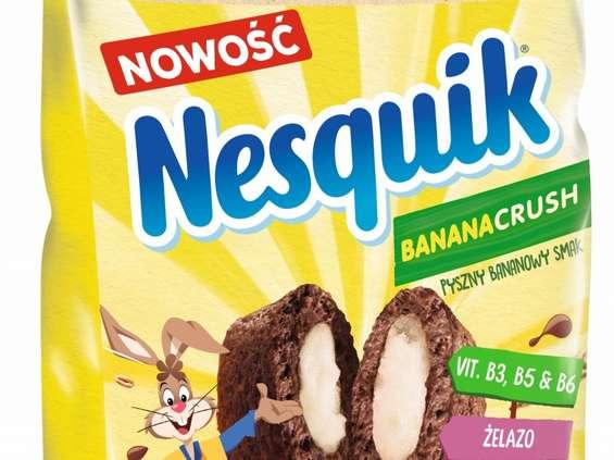 Cereal Partners Poland Toruń-Pacific. Nestlé Nesquik BANANACRUSH