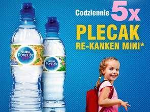Nestlé Pure Life z plecakami do wygrania