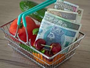 Wolumen wydatków na żywność nigdy nie spadł poniżej poziomów z 2019 r.