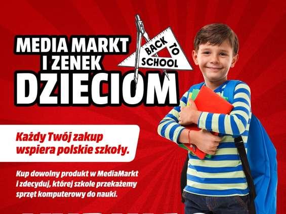 MediaMarkt przekaże szkołom 100 laptopów