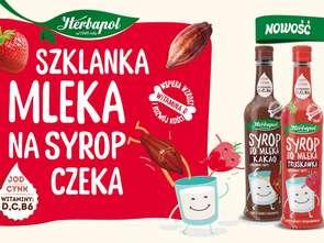 Herbapol-Lublin. Syropy do mleka