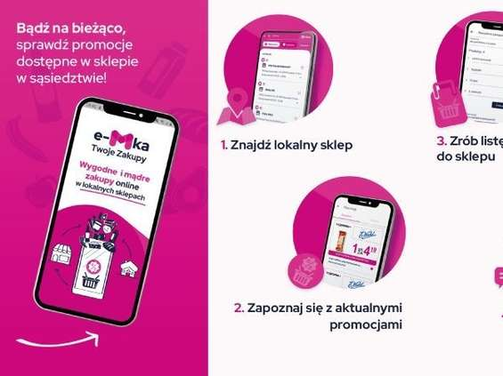 """Rusza aplikacja """"e-Mka - Twoje Zakupy"""""""
