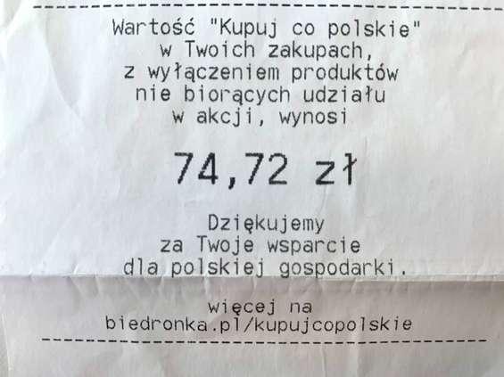 Klienci Biedronki wydali prawie 830 mln zł w ciągu jednego tygodnia