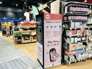 Carrefour ze stacją refillingową kosmetyków