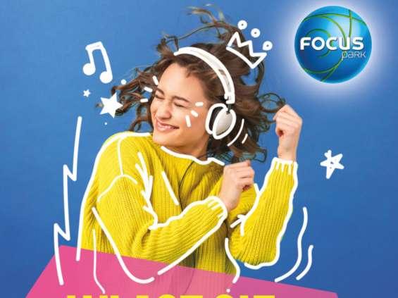 Focus Park Rybnik rozdaje słuchawki bezprzewodowe