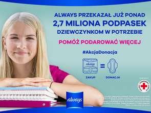 Startuje druga edycja kampanii Always #AkcjaDonacja