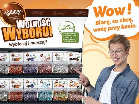 Wawel zachęca do tworzenia autorskich kompozycji słodyczy