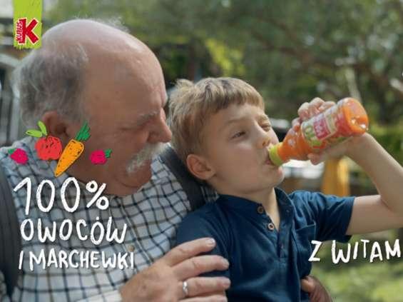 Soki Kubuś 100% z witaminą C na odporność
