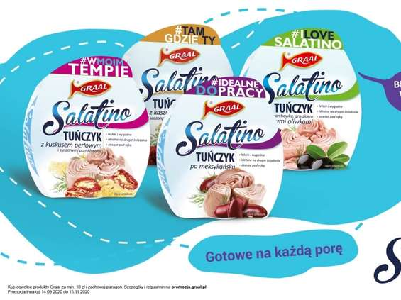 """""""Salatino. Gotowe na każdą porę"""""""
