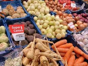 Najtańsze warzywa są w hipermarketach