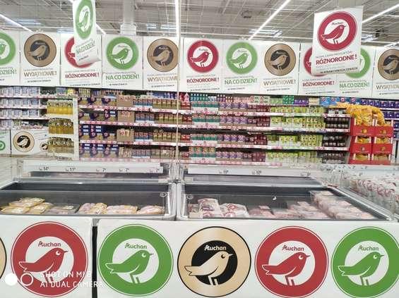 Auchan wprowadza etykiety żywieniowe Nutri-Score