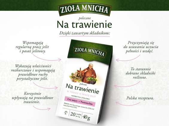 Herbapol-Lublin. Herbatki ziołowe Zioła Mnicha
